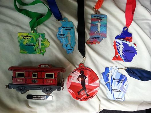 Heartland medals Jen Savage