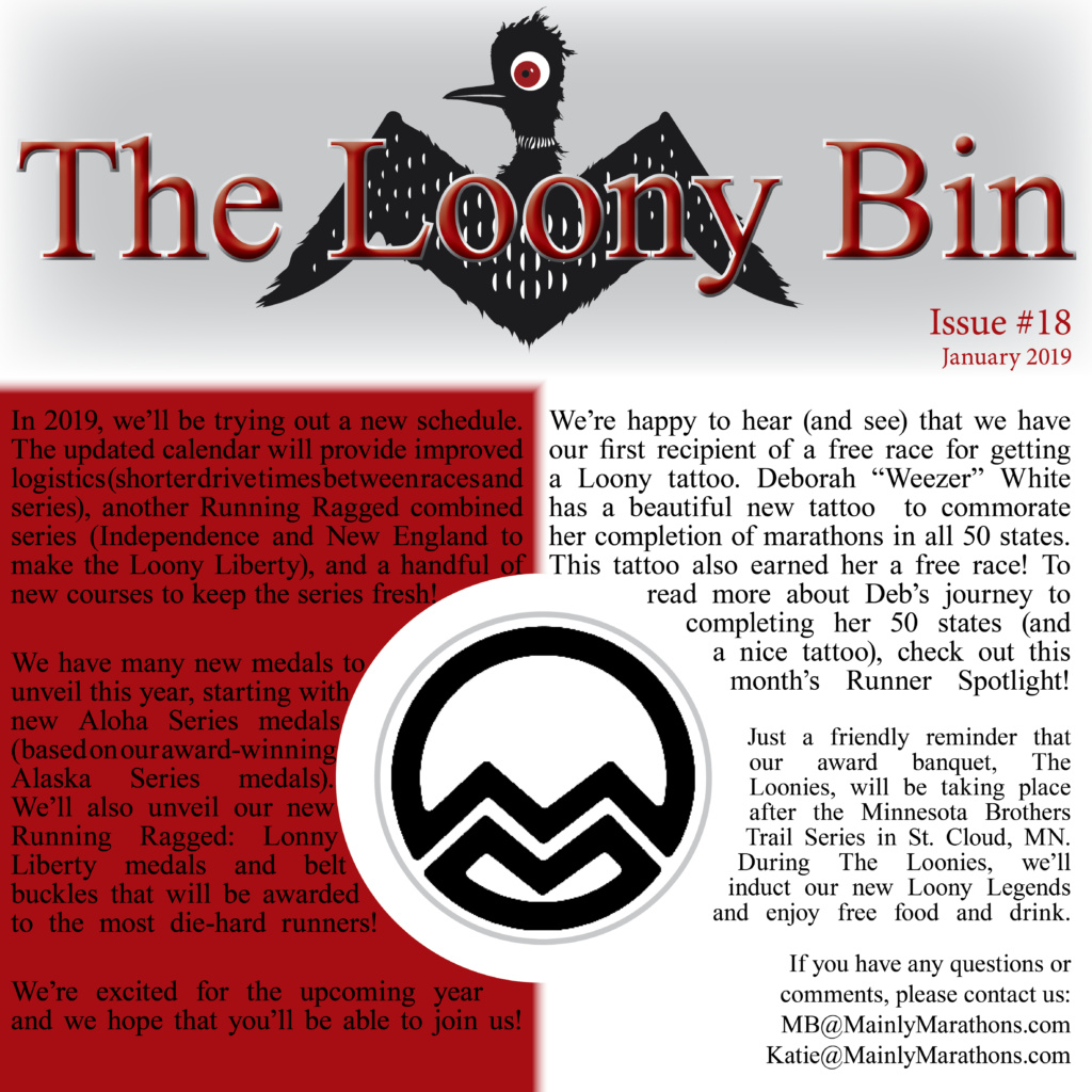 The Loony Bin - January 2019
