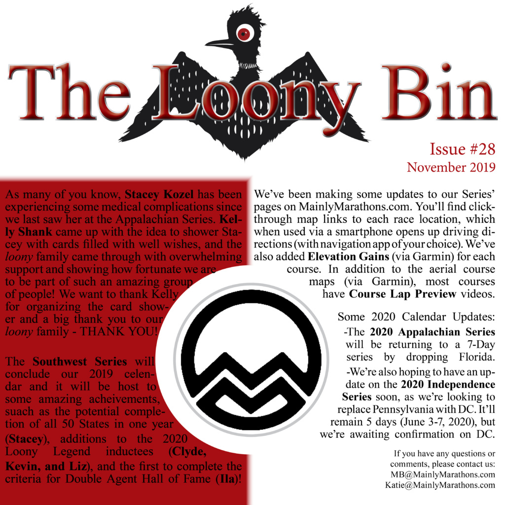 The Loony Bin - November 2019
