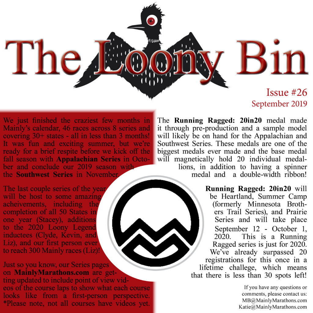 The Loony Bin - September 2019