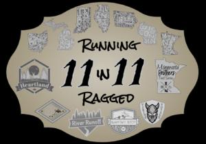 Running Ragged Belt Buckle
