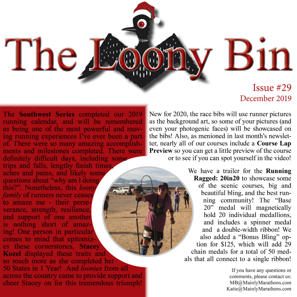 The Loony Bin - December 2019